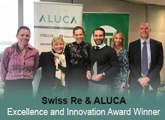 Swiss Re & ALUCA Excellence and Innovation Award Winner