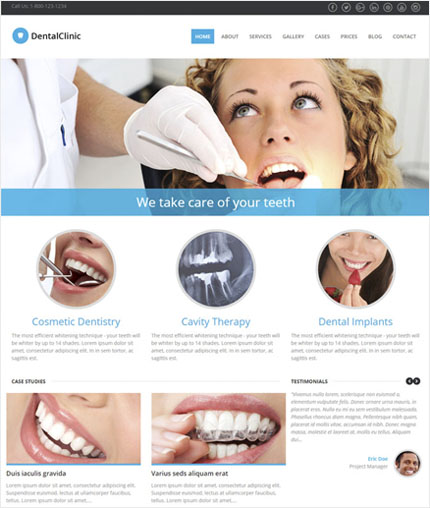 DentalClinic wp theme