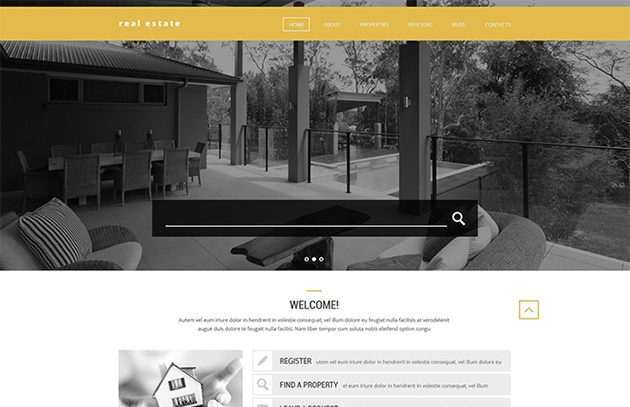 Realtors' Help WordPress Theme