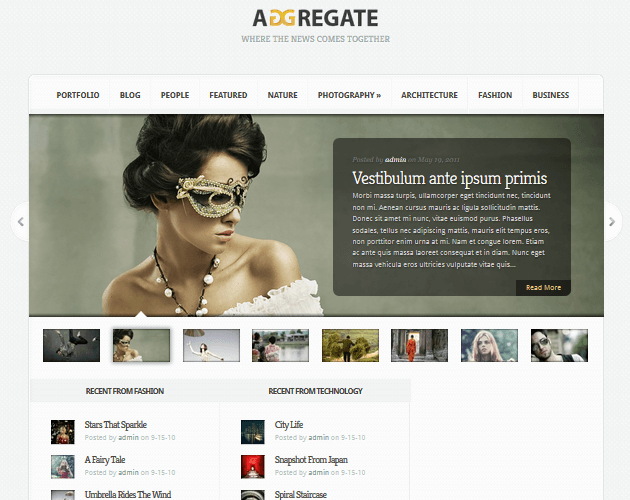 aggregate-wordpress-curation-themes