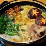 鍋料理(スキヤキ)