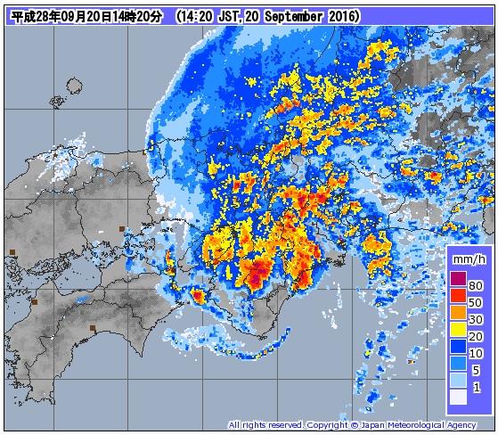 気象庁 気象レーダー