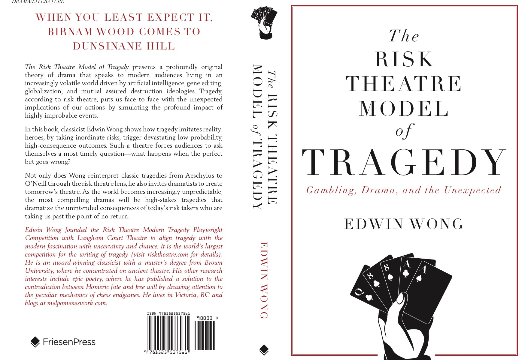 The Risk Theatre Model of Tragedy: Cover Image