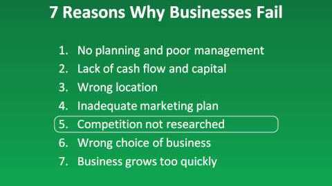 Why Small Businesses Fail and Succeed