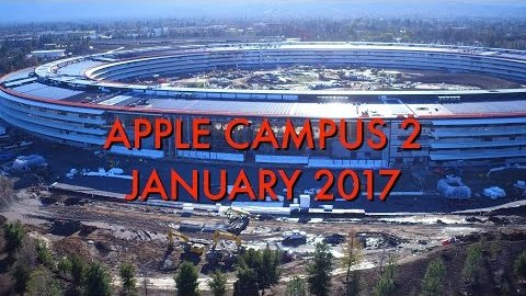 Apple's New $5 billion UFO-like Headquarters