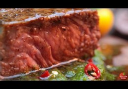 The Ultimate Steak! – Stone-Fried in the Forest