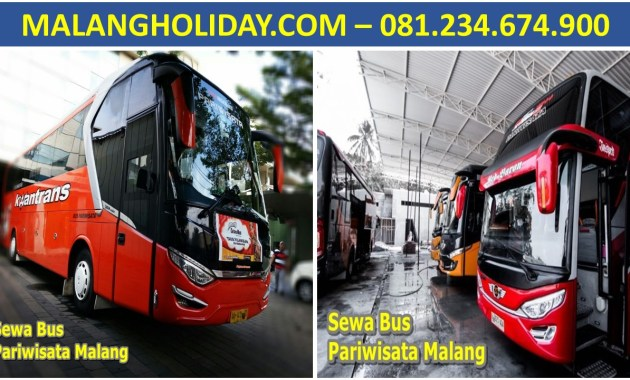Sewa Bus Pariwisata Malang Murah