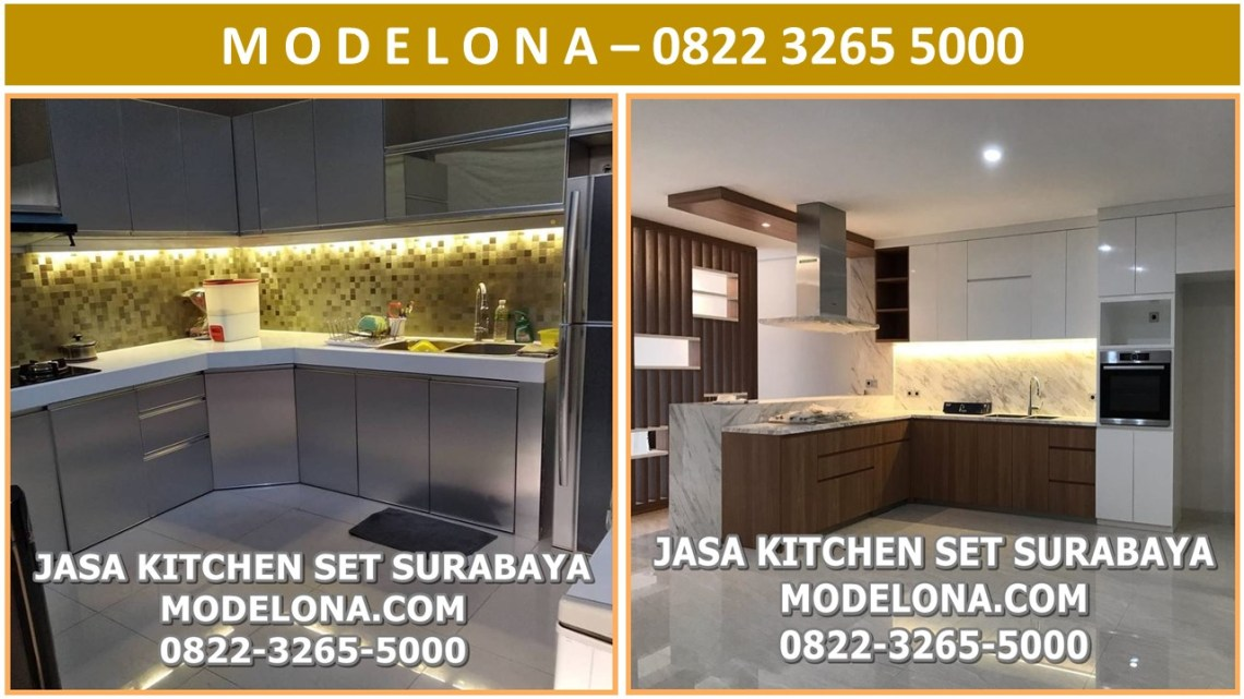 Jasa Kitchen Set Surabaya