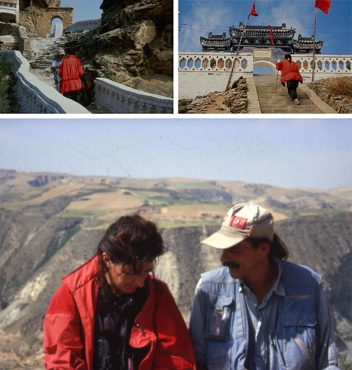 c 3 abramovic ulay - Great Wall Walk 1988