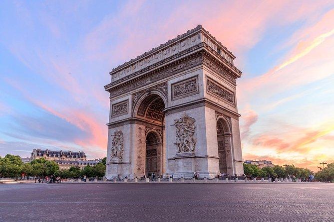 Arc de Triomphe Parigi un viaggio da sogno