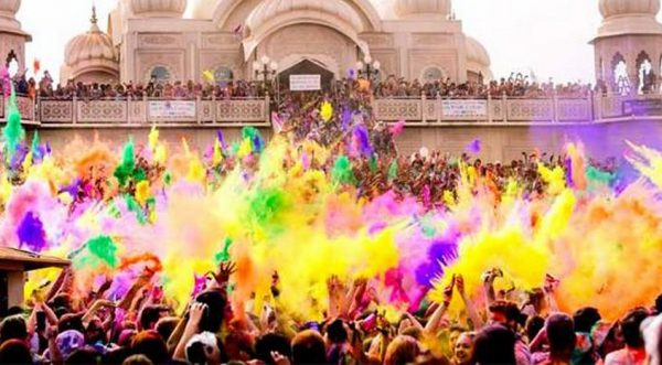 Tour dell'India all'Holi Festival