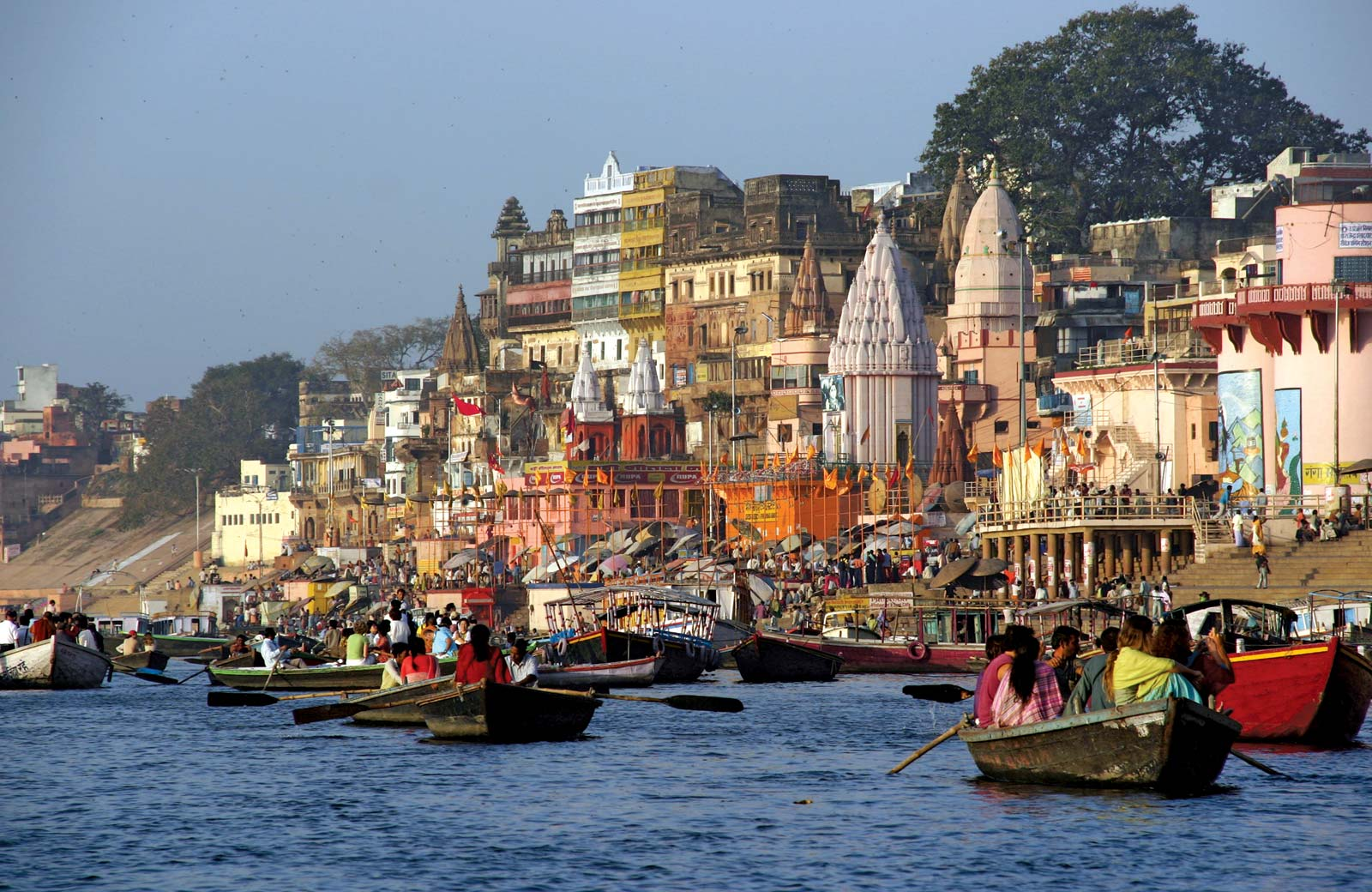 Tour dell'India _holi festival_Varanasi