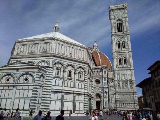 Firenze una meravigliosa esperienza di due giorni. Battistero e campanile di Giotto
