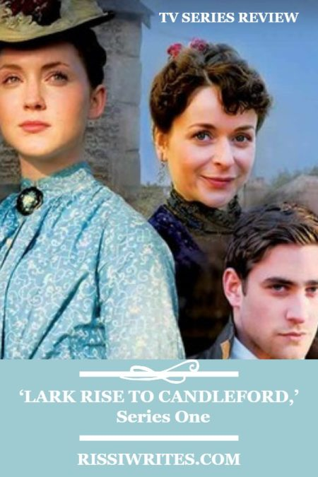 'Lark Rise to Candleford,' Series One: This is a British Drama of Charm. A review of the BBC drama with Julia Sawalha. Text © Rissi JC