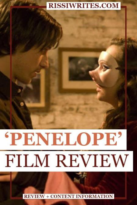 'Penelope' is a Happy & Colorful Modern Fairytale Romance. A review of the 2006 Penelope movie with Christina Ricci and James McAvoy. Text © Rissi JC