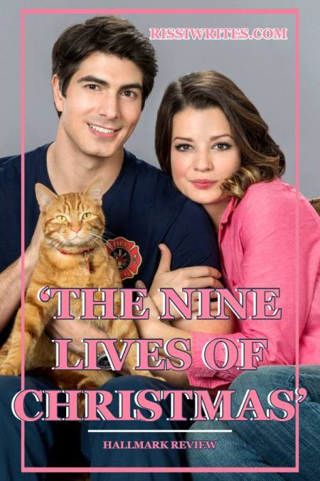 'The Nine Lives of Christmas' is One Fun Meet Cute Romance. Review of the 2014 Countdown to Christmas romance with Brandon Routh. Text © Rissi JC