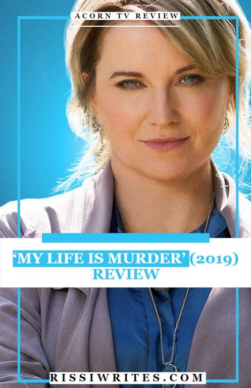 my life is murder acorn tv review pinterest