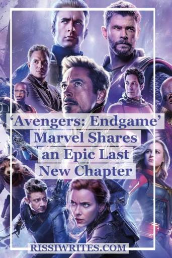 'Avengers: Endgame': Marvel Makes an Epic Last New Chapter. Talking about the final MCU 'Avengers' film with Robert Downey Jr. Text © Rissi JC