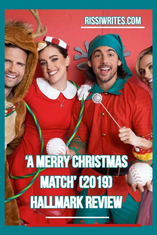 'A Merry Christmas Match': One Happy Dream Begins. Review of the first Miracles of Christmas romance of 2019! Text © Rissi JC