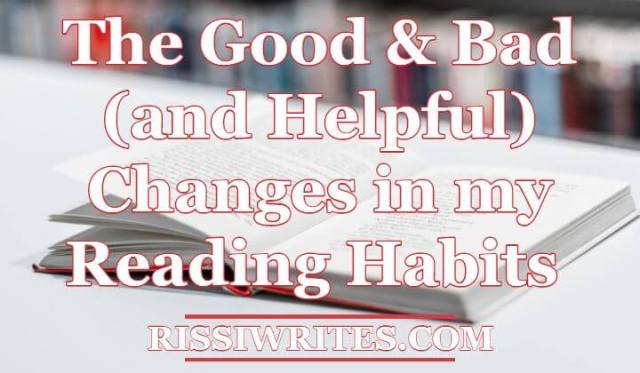 reading habit changes