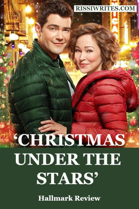 'Christmas Under the Stars' is All Heart and Sparkling Joy. Review of the 2019 Countdown to Christmas romance with Jesse Metcalfe. Text © Rissi JC