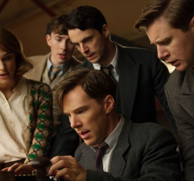 'The Imitation Game': The Remarkable WWII True Story. A review of the film with Benedict Cumberbatch. Text © Rissi JC