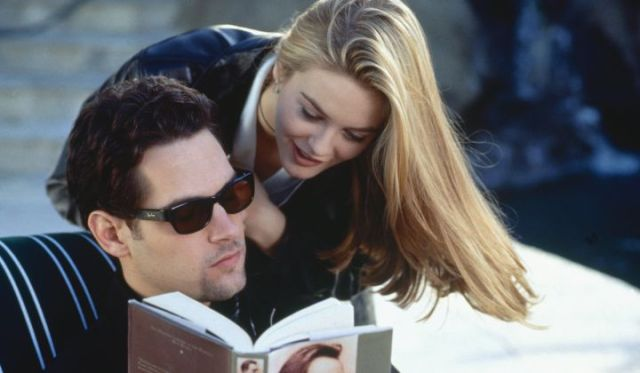 Paul Rudd and Alicia Silverstone co-star in Clueless (1995)