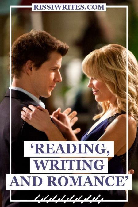 'Reading, Writing and Romance': A Hallmark Romance of Prose. Review of the Eric Mabius & Virginia Williams romance. Text © Rissi JC