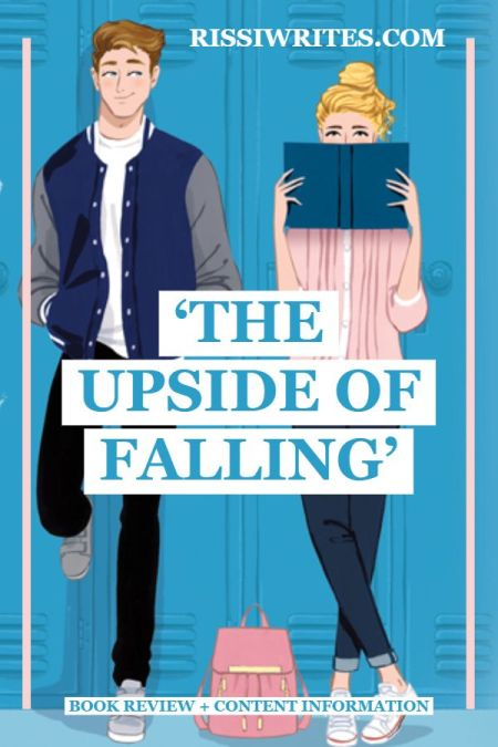 'The Upside of Falling': An Adorable 2020 Debut YA RomCom. A review of the YA novel by Alex Light, a HarperTeen novel. Text © Rissi JC