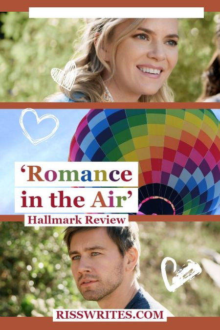 'Romance in the Air': An Easy to Enjoy Hallmark Romance. Review of the 2020 Hallmark debut with Cindy Busby. All review text © Rissi JC