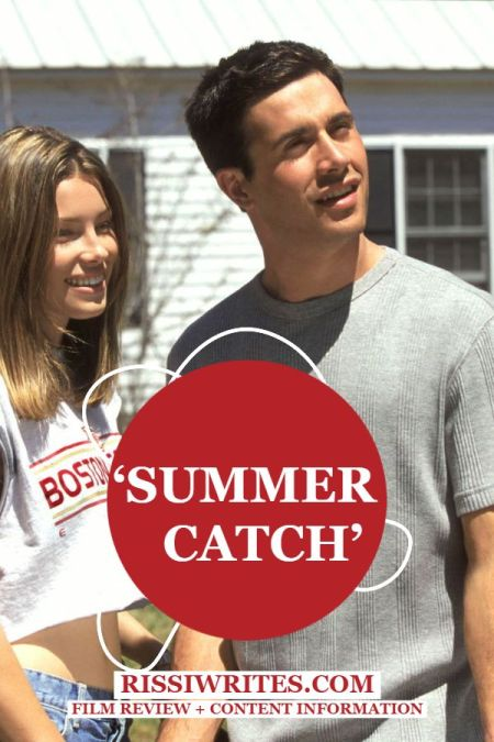 'Summer Catch': First Love in the Summertime. A review of the 2001 dramedy with Freddie Prinze Jr. and Jessica Biel. Text © Rissi JC