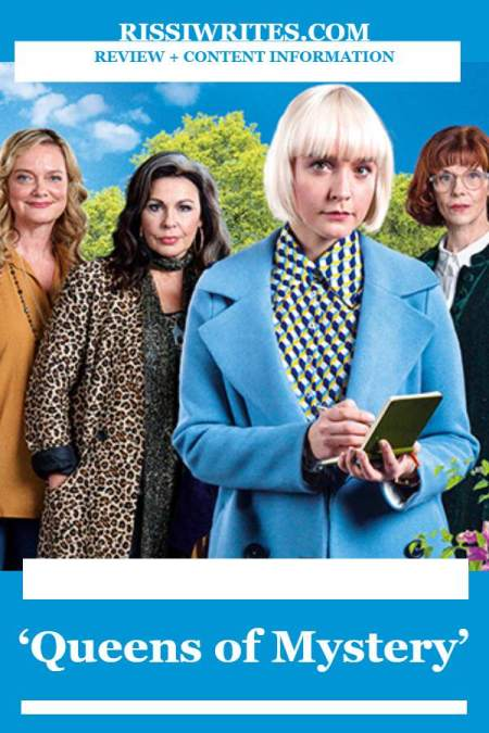 'Queens of Mystery': One of the Most Fun Acorn TV Shows. A charming Acorn original mystery series not to miss. Text © Rissi JC