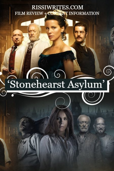 'Stonehearst Asylum' is a Most Fascinating and Pretty Period Drama. A review of the 2014 period drama with Kate Beckinsale. Text © Rissi JC