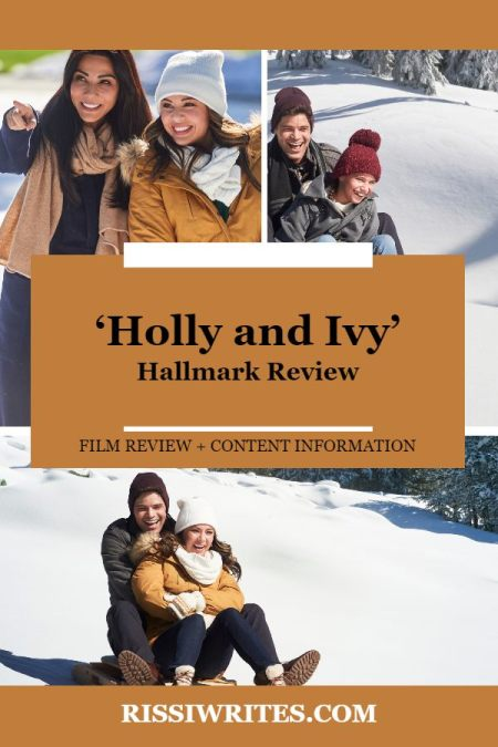 'Holly and Ivy': A Christmas Movie with a Good Heart. A review of the 2020 Janel Parish Hallmark Movies & Mysteries title. Text © Rissi JC