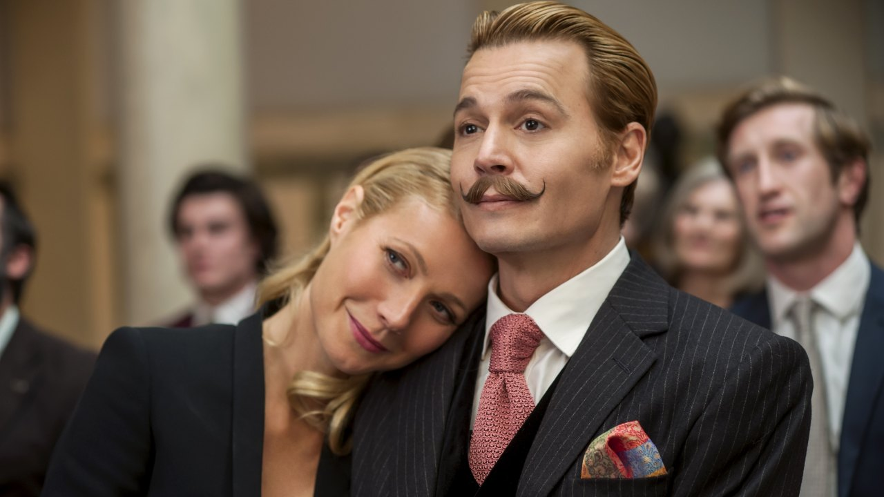 'Mortdecai': The Silly Fun Movie with Johnny Depp. A review of the 2015 comedy with Depp and Gwenyth Paltrow. All text © Rissi JC