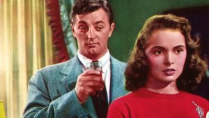 Enjoy 'Holiday Affair,' a Good Romance from the 1940s. A review of the film with Janet Leigh & Robert Mitchum. Text © Rissi JC