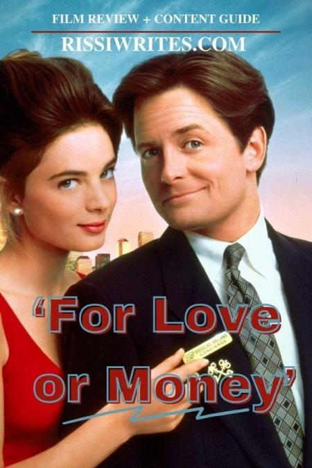 'For Love or Money' Is a Fun Movie. Reviewing the 1992 rom-com film with Michael J Fox & Gabrielle Anwar. All review text © Rissi JC