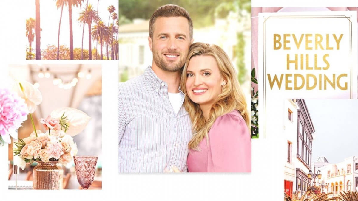 'BEVERLY HILLS WEDDING': A COMEDY OF TOO MUCH WEDDING! Review of the 2021 rom com with Brooke D'Orsay. All text © Rissi JC