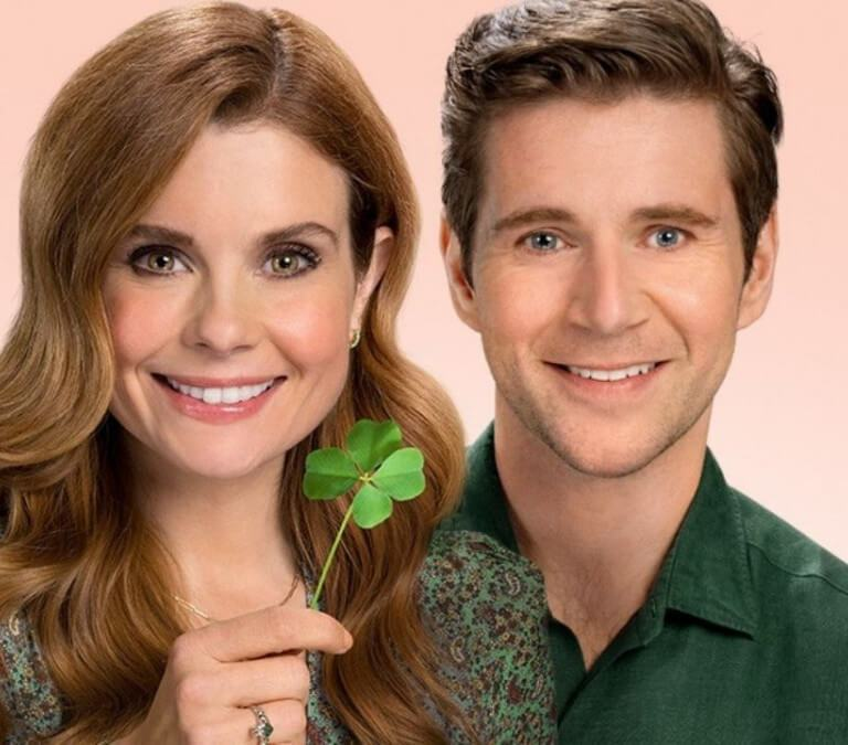 ALLEN LEECH MAKES PERFECT MATCH IN ROMCOM 'AS LUCK WOULD HAVE IT.' Review of the 2021 Hallmark romcom. All text © Rissi JC