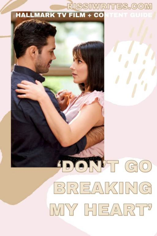 PLEASE 'DON'T GO BREAKING MY HEART' IS THE LESSON OF THIS BOOT CAMP! Ryan Pavey stars in this Hallmark romance. Text © Rissi JC