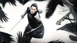 'Snow White and the Huntsman' (2012). Kristen Stewart plays the titular character in this dark fantasy re-telling. Text © Rissi JC