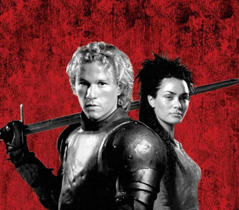 ABOUT A MOVIE ANNIVERSARY: THE FUN OF 'A KNIGHT'S TALE,' 20 YEARS LATER. Celebrating the fun Heath Ledger film. All text © Rissi JC