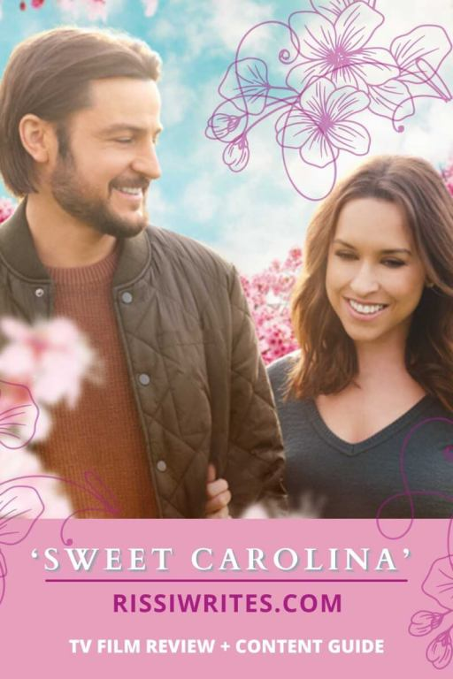 'SWEET CAROLINA' IS EMOTIONAL DRAMA IN A LACEY CHABERT STORY. Review of the Hallmark film about a woman who loses her sister. All text is © Rissi JC