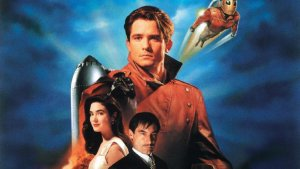 'THE ROCKETEER': ONE OF THE VINTAGE DISNEY MOVIES THAT ENTERTAINS. Reviewing the 1991 film from Disney about an eager young pilot. Text © Rissi JC Photo: Disney