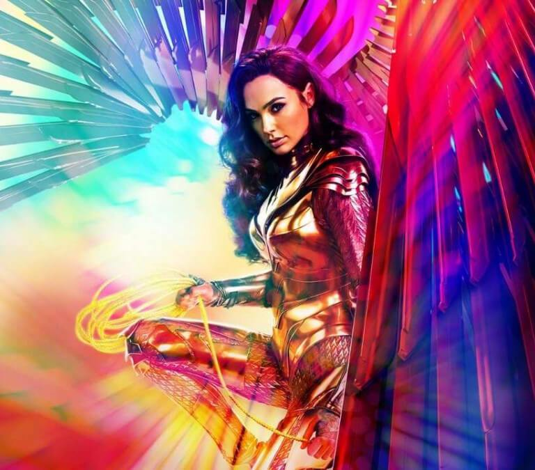 'WONDER WOMAN 1984': THE MOVIE EVERYONE HAD TO SEE. Gal Gadot returns (this time in 1984!) as the Wonder Woman aka Diana Prince character. All text © Rissi JC Photo: DC Comics