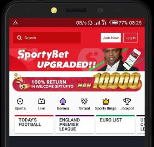 SportyBet App Apk Download