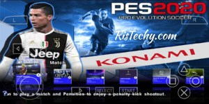 PES 2020 PPSSPP-PSP Iso