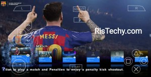PES 2020 PPSSPP-PSP iso Save Data Textures