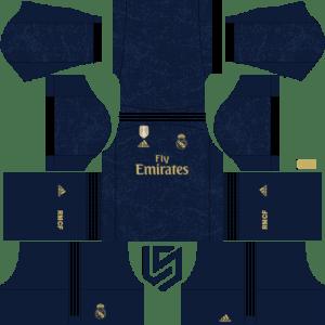 Real Madrid kit 19-20 DLS Away