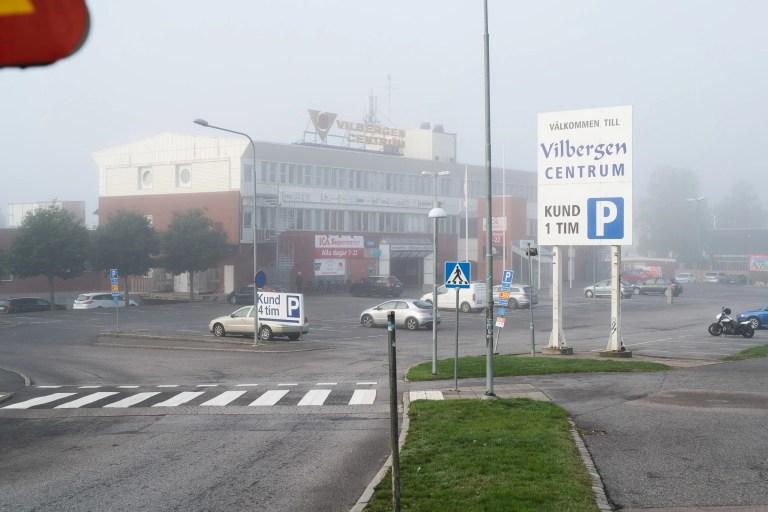 Vilbergen centrum i Norrköping